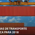 Tendências de Transporte e Logística para 2018