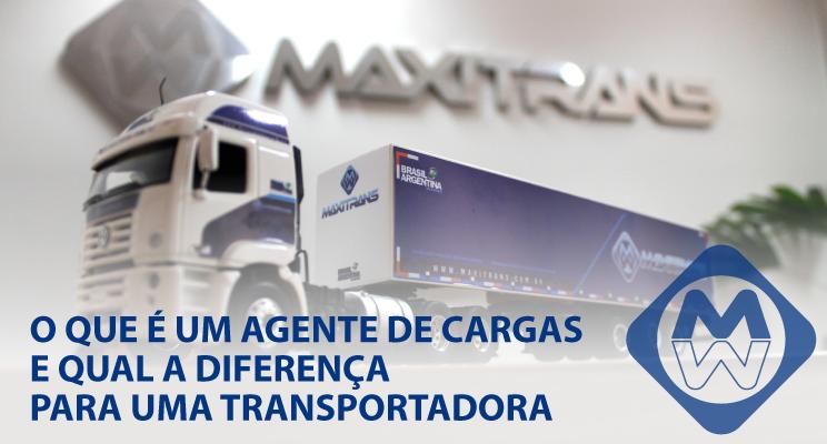 O que é um agenciador de cargas e qual a diferença para uma transportadora